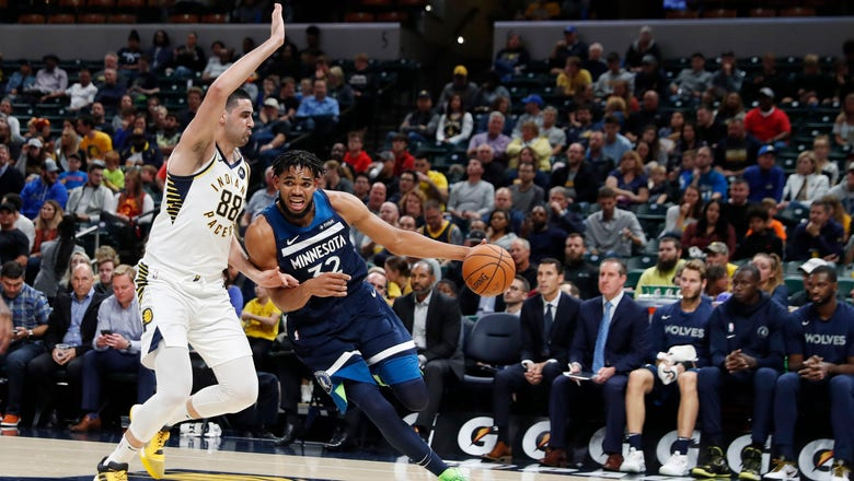 Pacers fall 119-111 to Timberwolves in preseason finale