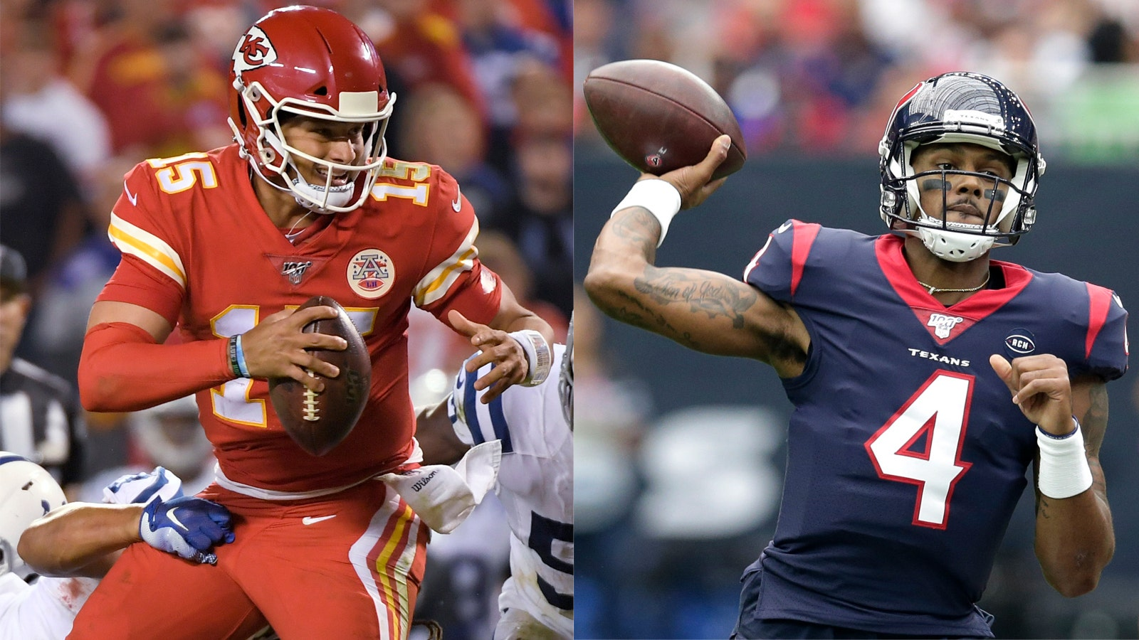 Longtime Friends Mahomes And Watson Will Square Off As