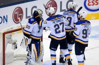 Pietrangelo scores game-winning goal in Blues' 3-2 win over Maple Leafs