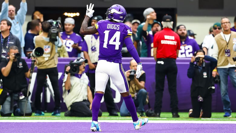 StaTuesday: Vikings' Diggs, Cousins pull off rare home feats