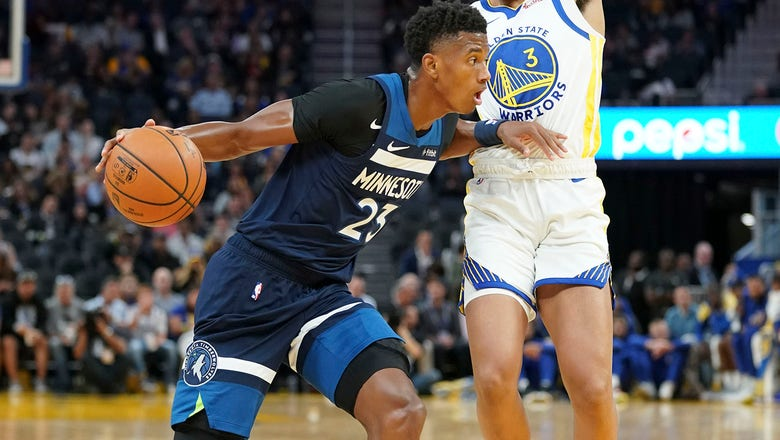Rookie Culver impresses in Wolves' preseason loss to Warriors