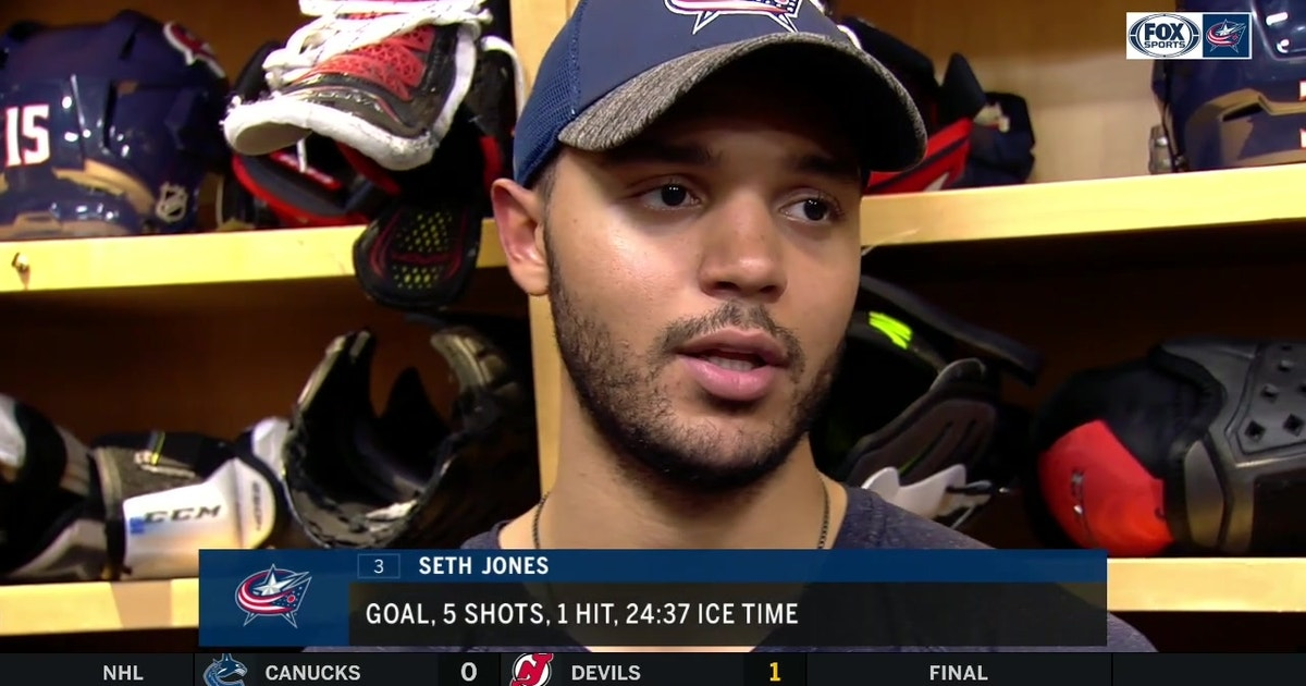 Seth Jones regrets that Blue Jackets couldn't make the winning OT play