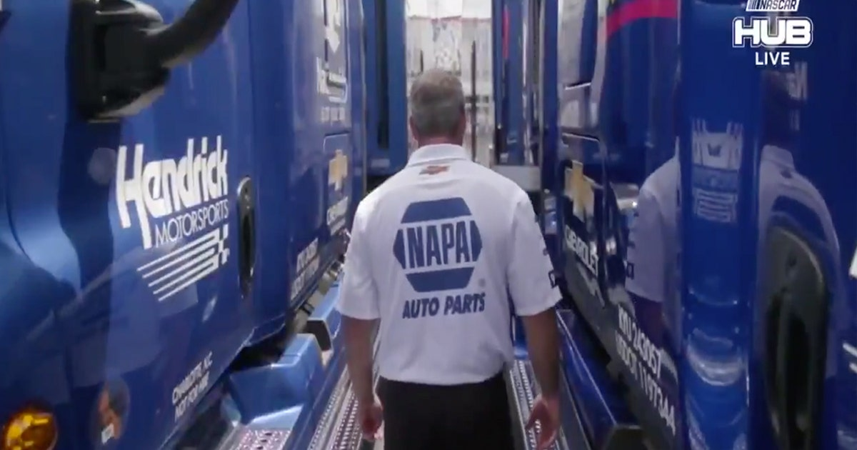 Road Warriors: Meet Chase Elliott's hauler driver