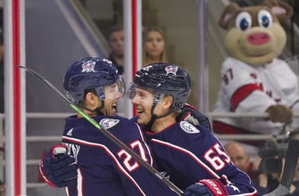 Blue Jackets win 3-2, hand Hurricanes their first loss of season