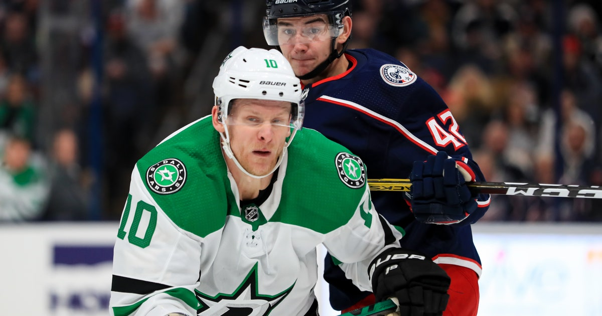 Corey Perry Makes Stars Debut, Dallas falls to Columbus 3-2 | FOX Sports