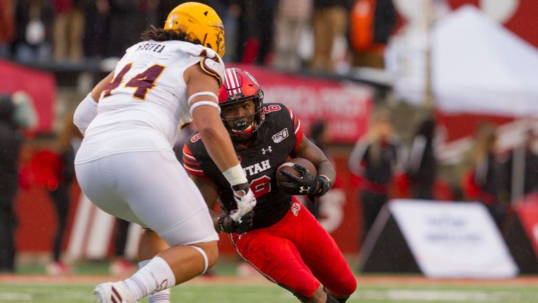 Zack Moss becomes Utah's all-time rushing leader in 21-3 win over Arizona State