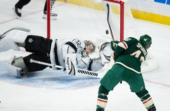WATCH: Wild pull away late in 5-1 win over Kings