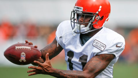 <p>               FILE - In this Aug. 12, 2018, file photo, Cleveland Browns wide receiver Antonio Callaway catches a pass during NFL football training camp in Berea, Ohio. Browns coach Freddie Kitchens said benching Callaway is a one-game punishment. Callaway did not play in Sunday's 19-16 win over the Buffalo Bills. He was a surprising addition to the inactives list after being included in the game plan. Kitchens has not divulged his reason for sitting Callaway, who was suspended four games earlier this season by the NFL for violating the league's drug policy. (AP Photo/Ron Schwane, File)             </p>