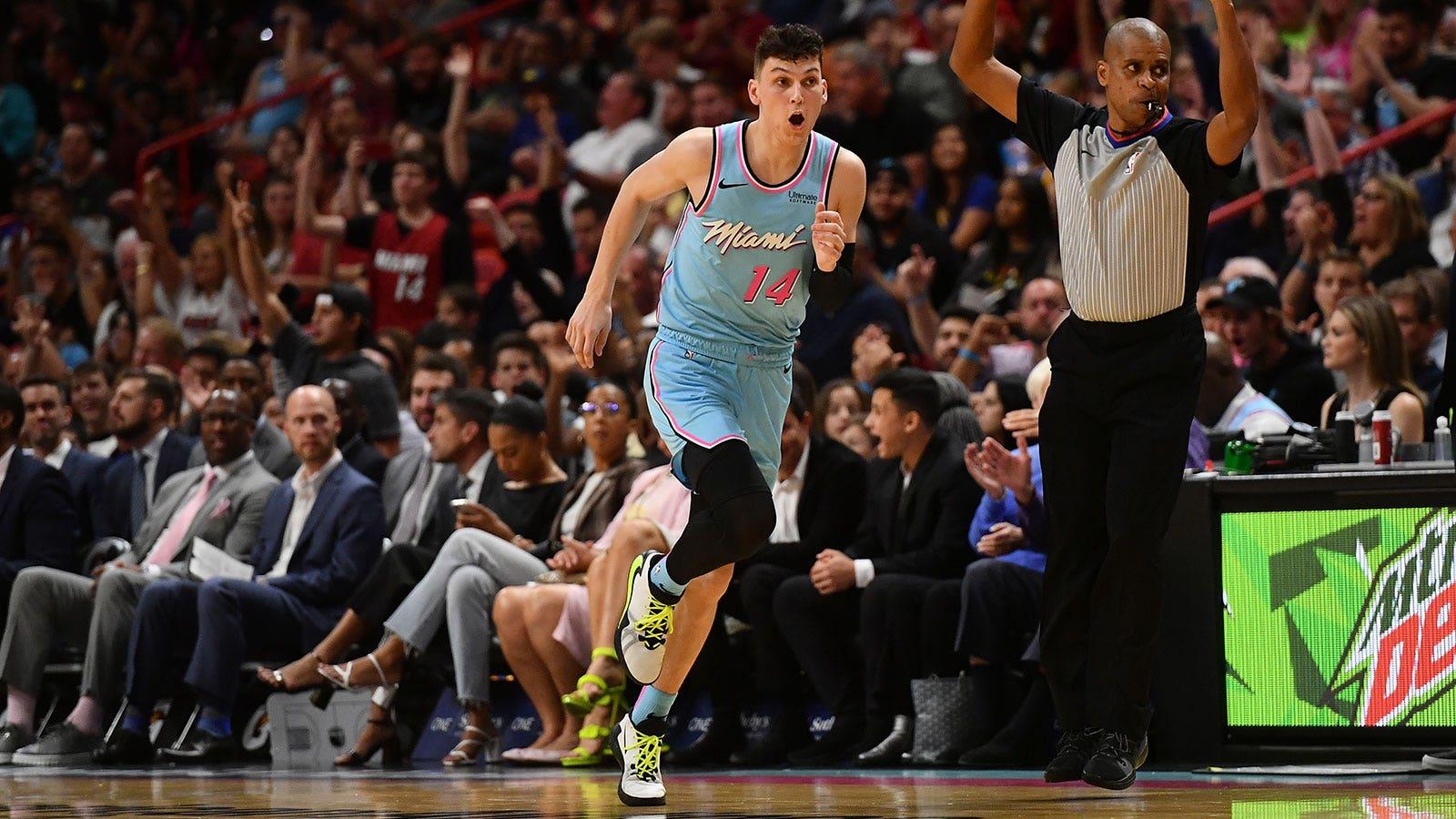 Miami Heat 122 Golden State Warriors 105