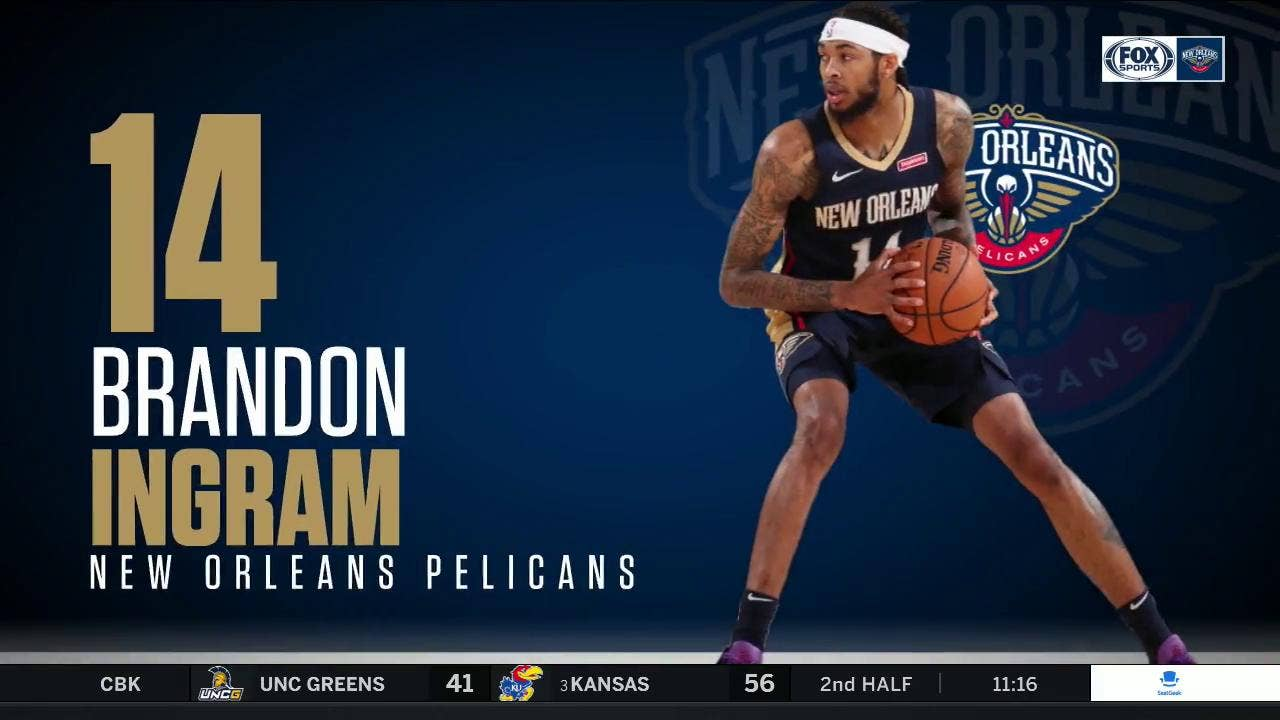 Brandon Ingram has big night vs. Raptors | Pelicans Live