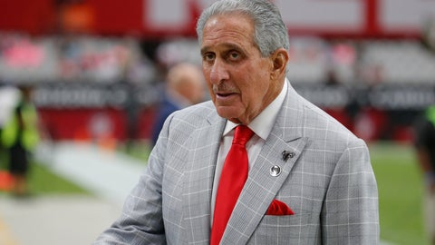 <p>               FILE - In this Oct. 13, 2019, file photo, Atlanta Falcons owner Arthur Blank stands on the field prior to an NFL football game against the Arizona Cardinals, in Glendale, Ariz. Blank is making his first major drive into international philanthropy. The Arthur M. Blank Family Foundation is expected to announce Thursday, Nov. 14, 2019, that it's donating $6.8 million to the group CARE. (AP Photo/Rick Scuteri, File)             </p>