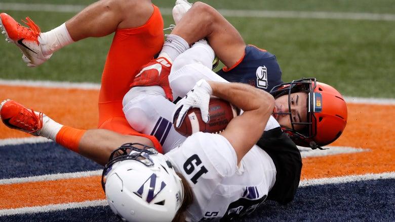 Northwestern upsets rival Illinois 29-10