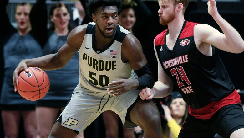 Purdue overpowers Jacksonville State 81-49