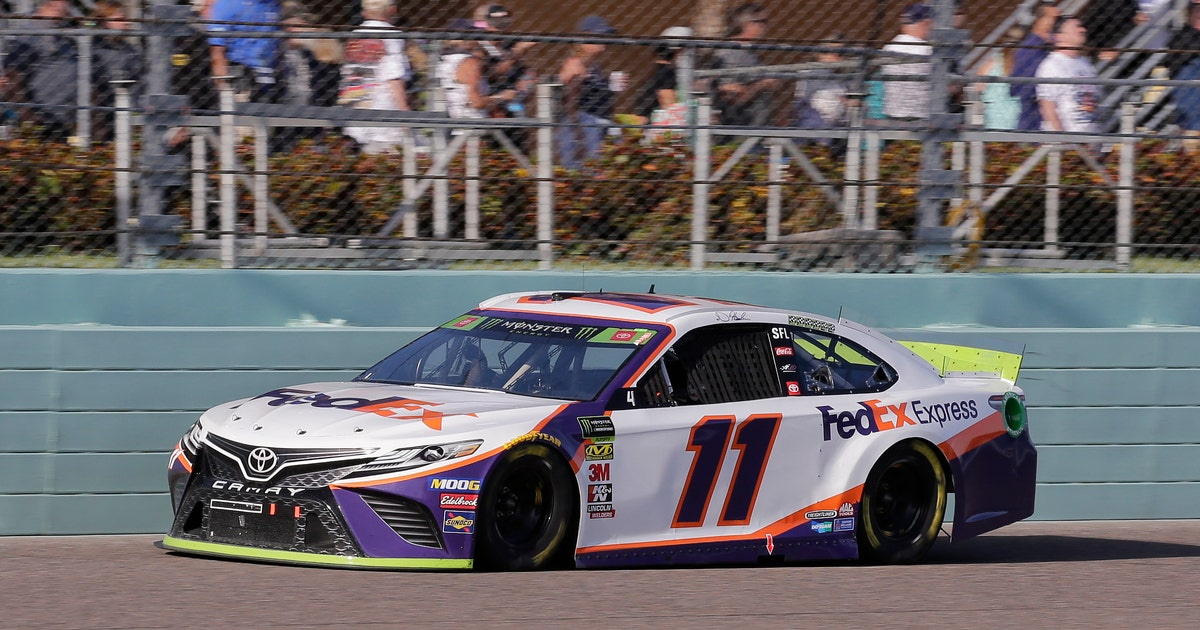 Sticky Situation: Hamlin's title run ends with tape gaffe | FOX Sports