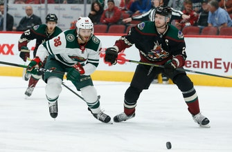 Hartman, Wild rally for 4-3 win over Coyotes