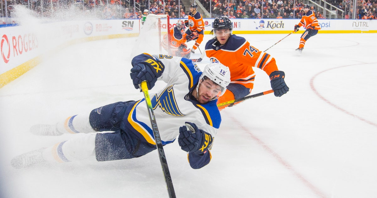 Blues beat Oilers 5-2 for 6th straight victory thumbnail