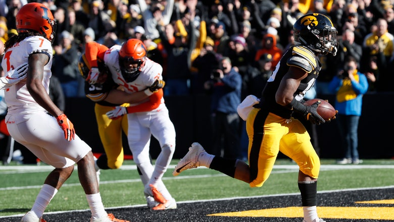 No. 19 Hawkeyes look to crank up run game again vs Huskers