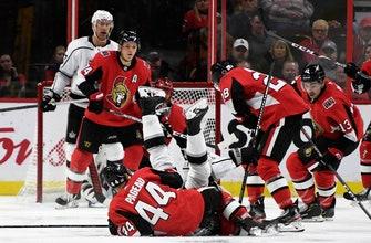 Pageau lifts Senators past Kings in OT