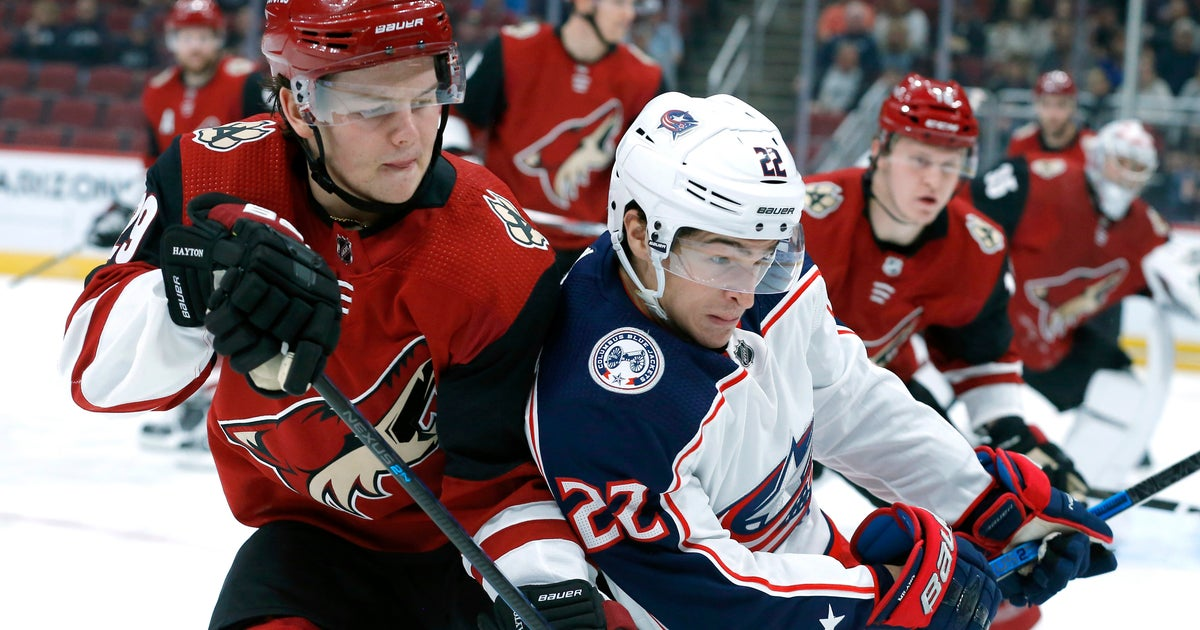 Blue Jackets end 5-game skid with 3-2 win over Coyotes thumbnail