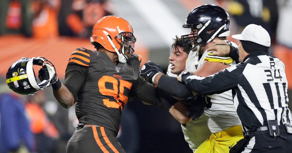 Browns star Garrett facing NFL discipline after outburst | FOX Sports