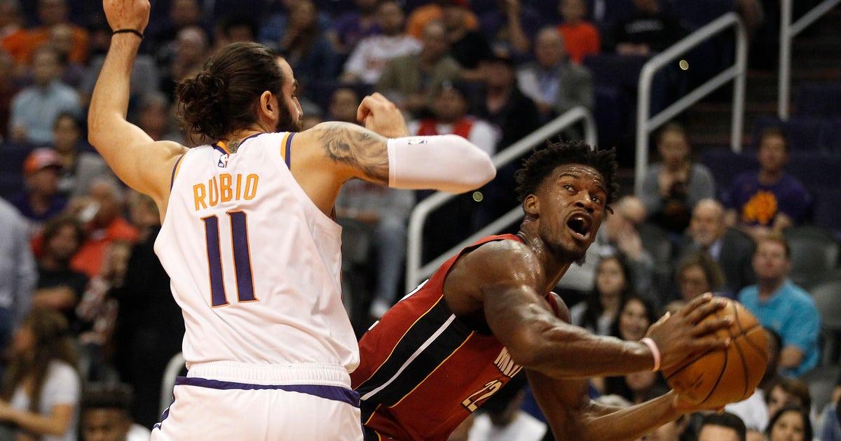 Butler, Dragic lead Heat over Suns 124-108 thumbnail