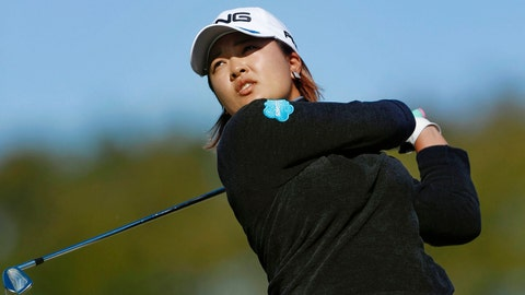 <p>               Japan's Ai Suzuki watches her shot during the second round of the LGPA Japan Classic golf tournament in Otsu, Shiga prefecture, western Japan Saturday, Nov. 9, 2019. (Kyodo News via AP)             </p>