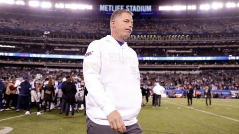 <p>               New York Giants head coach Pat Shurmur walks off the field after the Giants lost 37-18 to the Dallas Cowboys in an NFL football game, Monday, Nov. 4, 2019, in East Rutherford, N.J. (AP Photo/Adam Hunger)             </p>