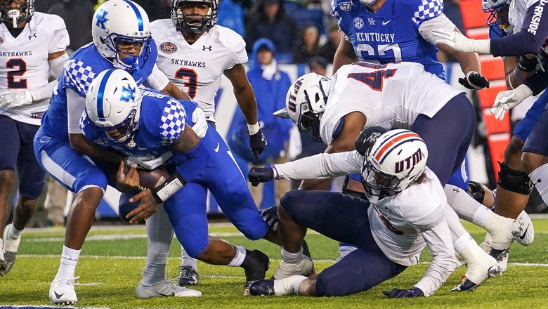 Bowden, Kentucky race past UT Martin 50-7