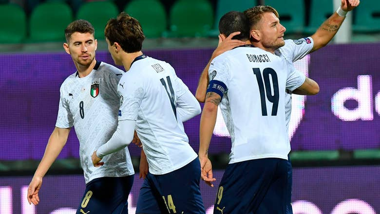 Italy has swagger back with winning streak and glut of goals