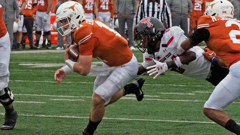 Ehlinger and Texas rally to 49-24 win over Texas Tech