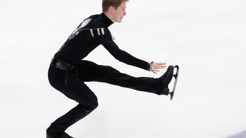 <p>               Russia's Alexander Samarin performs during the men's free skating at the ISU Grand Prix of Figure Skating- Rostelecom Cup in Moscow, Russia, Saturday, Nov. 16, 2019. (AP Photo/Alexander Zemlianichenko)             </p>