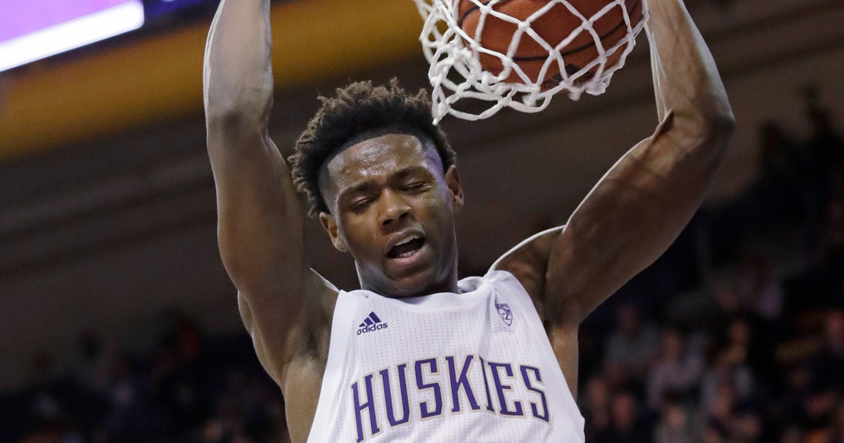 No. 25 Washington rebounds from 1st loss, tops Maine 72-53 | FOX Sports