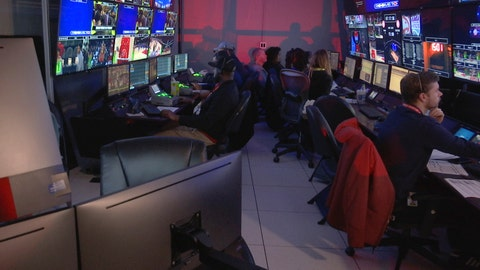 <p>               In this Thursday, Nov. 7, 2019, photo taken from video, technicians monitor video feed from 38 cameras placed around State Farm Arena in Atlanta in order to produce 3 dimensional video replays. The Atlanta Hawks Friday will become the fifth NBA team to unveil significant financial investments into new 360-degree replay technology designed to eventually give fans the power to change the way they see the game.  (AP Photo/Cody Jackson)             </p>