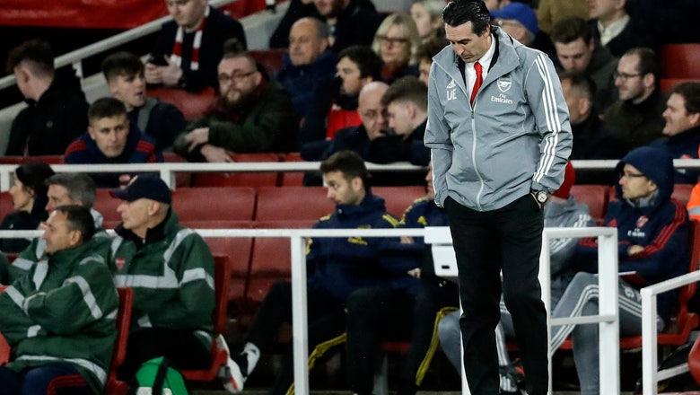 Emery fired by Arsenal after team's worst run in 27 years