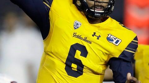 <p>               California quarterback Devon Modster passes against Washington State in the second half of an NCAA college football game Saturday, Nov. 9, 2019, in Berkeley, Calif. (AP Photo/Ben Margot)             </p>