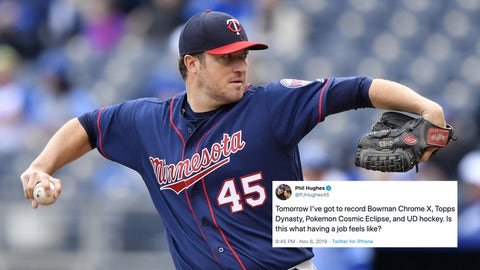 Phil Hughes, former Twins pitcher