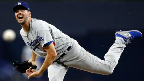 <p>               FILE - In this Sept. 24, 2019, file photo, Los Angeles Dodgers starting pitcher Rich Hill works against a San Diego Padres batter during the first inning of a baseball game Tuesday, Sept. 24, 2019, in San Diego. Free agent left-hander Hill has had surgery on his pitching elbow and is likely to miss the first half of next season, a person familiar with the situation told The Associated Press on Monday, Nov. 25, 2019. The person spoke to The Associated Press on condition of anonymity because Hill's surgery was not announced.The person spoke to The Associated Press on condition of anonymity because Hill's surgery was not announced. (AP Photo/Gregory Bull)             </p>