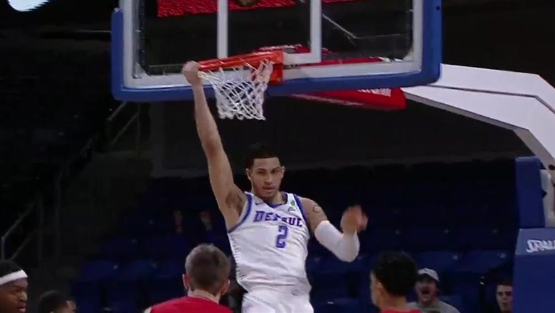 DePaul Blue Demons take care of the Cornell Big Red 75-54