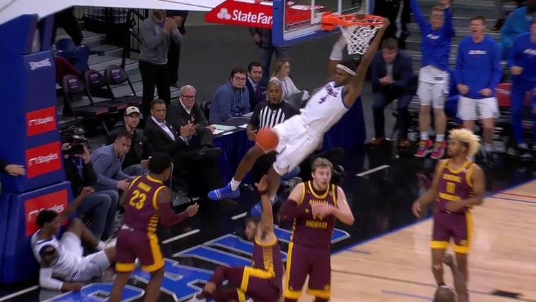 DePaul storms back from 18-point halftime deficit to remain undefeated