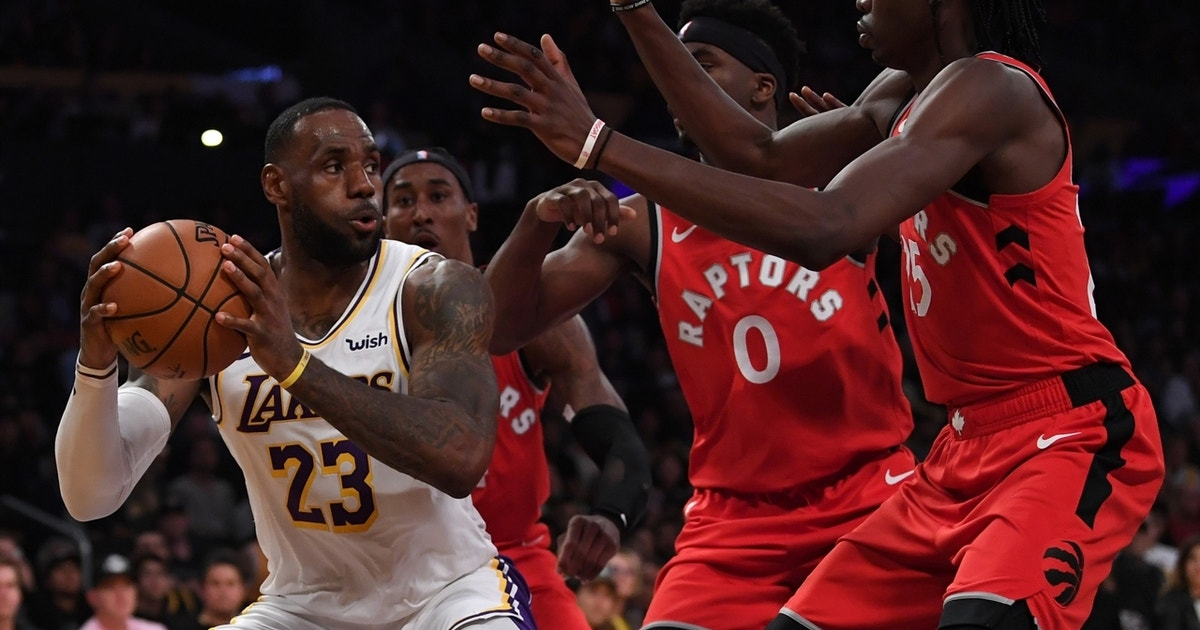 Shannon Sharpe: Lakers can blame loss to Raptors on LeBron's passiveness on offense