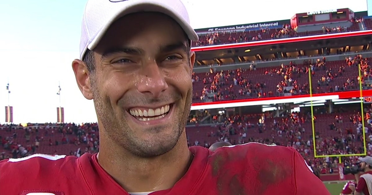 Jimmy Garoppolo after career-best performance: 'I learned a lot today'