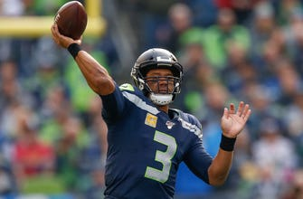 Russell Wilson's five touchdowns lead Seahawks to comeback 40-34 OT win over Bucs