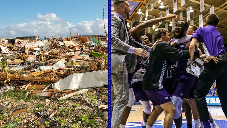 Nate Bain helps knock off Duke, donations reach $100K to help his family devastated by hurricane