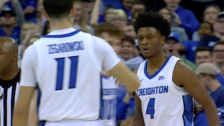 Creighton cruises past Cal Poly 86-70 behind double figures from every starter