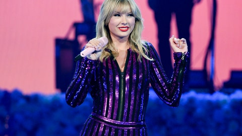 <p>               FILE - In this July 10, 2019 file photo Taylor Swift performs at Amazon Music's Prime Day concert in New York. Swift will be honored with the award for artist of the decade at this year's American Music Awards. (Photo by Evan Agostini/Invision/AP, File)             </p>