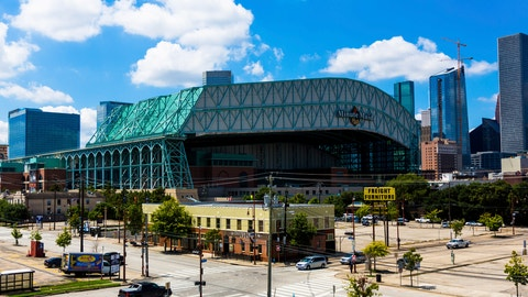 <p>               FILE - This Sept. 11, 2016 file photo shows a wide angle view of Minute Maid Park in downtown Houston. Major League Baseball has expanded its investigation into the Houston Astros after The Athletic website reported the team stole signs during home games in 2017 by using a camera positioned in center field. The report Tuesday, Nov. 12, 2019 quoted pitcher Mike Fiers, who played for the Astros that season, and three other unidentified people with the club. The Astros won the World Series that year — two sources told The Athletic that Houston used the system into the playoffs while another source said it ended before the postseason. (AP Photo/Juan DeLeon, file)             </p>