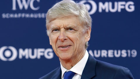 <p>               FILE - In this Monday, Feb. 18, 2019 file photo, former Arsenal soccer team manager Arsene Wenger arrives for the 2019 Laureus World Sports Awards. FIFA says it hired Arsene Wenger in a full-time role leading its global work developing soccer. Wenger accepted FIFA's offer more than two months after it was reported, and one week after talks with Bayern Munich about the German champion's vacant head coach job. He will oversee the rules-making panel known as IFAB, coaching programs and technical analysis of games at FIFA tournaments.  (AP Photo/Claude Paris, File)             </p>