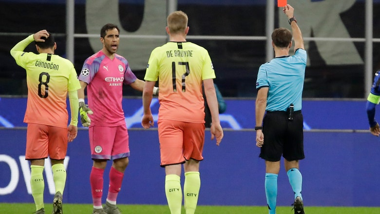 Walker plays in goal as Man City held 1-1 by Atalanta in CL