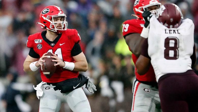 No. 4 Georgia a big favorite against state rival Ga Tech