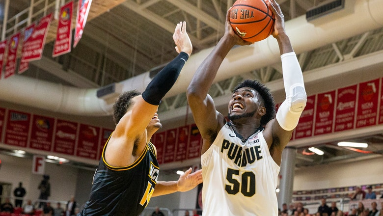 Purdue upsets No. 20 VCU, 59-56, in Emerald Coast Classic